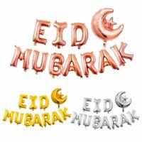 Ramadan Islamic Banner Decor Foil Party Eid Supplies Balloon Kareem Mubarak