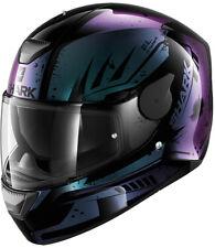 SHARK d-skwal dharkov KVX Violet casque moto - moyen