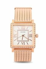 Guess Ladies Watch White Rose Gold - Stunning Gift Present Xmas Birthday W0826L3