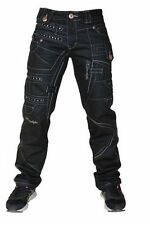 Regular Length Coloured Big & Tall Tapered Jeans for Men