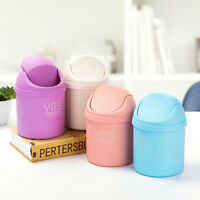 Mini Small Waste Bin For Desktop Garbage Basket Table Home Office Trash Can TB