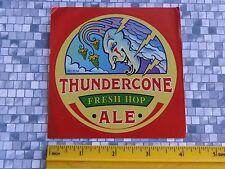Bier Aufkleber ~^~ Thundercone Frisch Hop Ale Ipa von Mcmenamins Kneipen ~