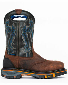 Cody James Men's Decimator Waterproof Western Composite Toe Safety Boots DBP-2