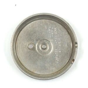 USED 30MM ALSTATER VENUS 230 ALARM WATCH STAINLESS STEEL CASE BACK