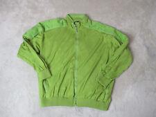 Paul & Shark Yachting Jacket Size Adult 3XL XXXL Green Full Zip Coat Mens *