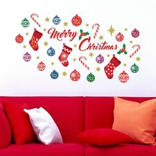 Walplus Merry Christmas Quote Festive Wall Sticker Nursery Home Decorations