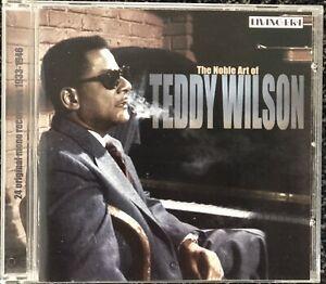 Teddy Wilson. The Noble Art Of Teddy Wilson. Jazz CD