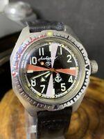 Vostok ALBATROS RADIO ROOM Vintage Wristwatch USSR Amphibian 2409 Diver #1564