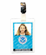 Fringe Olivia Dunham Homeland Security Cosplay Prop Costume Comic Con Halloween