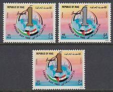 Irak Iraq 1982 ** Mi.1139/41 Tag der Arbeit Labour Day
