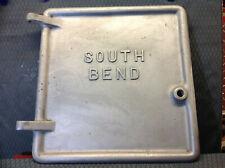 """south bend 16"""" lathe door  aluminum. rare"""