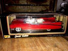 1959 Cadillac Eldorado Biarritz Conv Maisto Diecast 1:18  RED