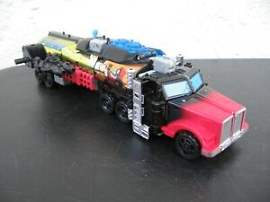 Transformers Titans Return Chaos On Velocitron Laser G2 Optimus Prime (complete)