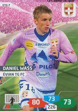 ETG-07 DANIEL WASS # DENMARK EVIAN THONON CARD ADRENALYN FOOT 2014 PANINI
