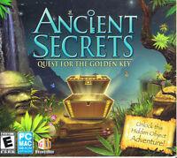 Ancient Secrets: Quest for the Golden Key (PC, 2009, GameHouse)