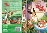 RED E TOBY - NEMICIAMICI (1981) VHS DISNEY
