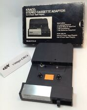 *VINTAGE* KRACO Stereo Cassette Adaptor For 8 Track Tape Players - Model KCA -8