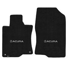 FOR ACURA TSX 2009-2014 Front Floor Mats EBONY ACURA W/ A LOGO 600216