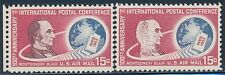 "#C67 VAR. ""1ST INT'L POSTAL CONFERENCE"" WITH GHOST PRINTING ERROR BT1286"
