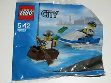 Lego City 30227 Police Watercraft thief minifigures Brand New Sealed in bag BNIP