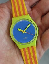 SWATCH --- Chaise Lounge GJ109 From 1993 Collection NEW Box Papers!