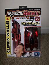 Radical Racers LED Light Up RACE CAR Climbs Walls REMOTE CONTROL SEEN ON TV