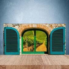 Crédence de cuisine en verre Panneau Paroi 100x50 Paysage Fenêtre