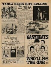 Easybeats Who'll Be The One UK '45 Advert 1967