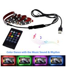 USB LED Strip Light 5050 RGB 5V DIY Flexible RGB LED Ribbon For TV Backlight