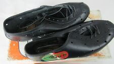 Nouveau vintage MARRESI italien Vélo De Route Chaussures en cuir, taille: EU39 UK6.5 USA7, Neuf dans sa boîte