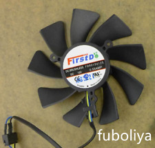 For Sapphire HD7770 7750 Graphics Card Fan R7 260X 2G FD9015U12S Fan 85MM F8