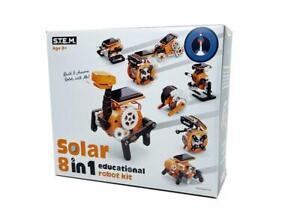 JOHNCO - 8 IN 1 SOLAR EDUCATIONAL ROBOT KIT