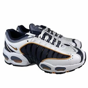 Nike Air Max Tailwind IV GS Metro Gray White Blue Shoes BQ9810-001 Youth Size 7Y