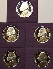 1990 S **PROOF** JEFFERSON NICKEL  **FREE SHIPPING**