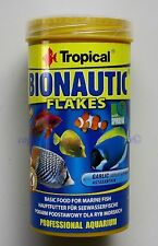 Tropical bionautic Flakes 250ml MANGIME PRINCIPALE per pesci d'acqua salata