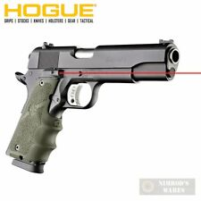 HOGUE 1911 Colt Government Laser SIGHT GRIP 45081 OD Green FAST SHIP