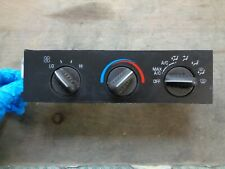 2001 CHEVROLET EXPRESS 1500 2500 3500 A/C HEATER CLIMATE CONTROL 16202950