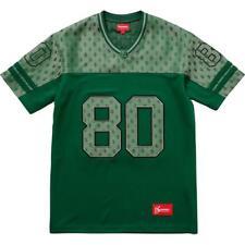Supreme SS18 Monogram Football Jersey - Dark Green, Size M (Medium) - New, NWT