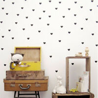 Heart Wall Sticker Kids Room Baby Girl Room Wall Decal StickersHomeDecorationTDO