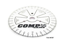 "Comp Cams 4790 Sportsman Degree Wheel 9"""