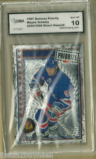 WAYNE GRETZKY 1997/98 DONRUSS PRIORITY DIRECT DEPOSIT #3000 GMA 10 GRADED GEM-MT