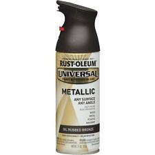 Oil Rubbed Bronze Universal All-Surface Metallic Spray Paint by Rustoleum 249131