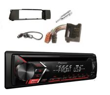 Pioneer deh-s100ub MP3 AUX CD USB FLAC RDS Set d'installation pour BMW Z4