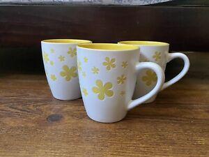 Matching Modern Flower Mugs