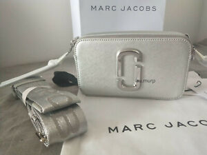 NWT Genuine Marc Jacobs  Snapshot DTM Metallic Small Camera Bag Crossbody sales