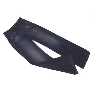 Replay Jeans denim Navy Woman Authentic Used C3025
