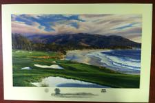 2010 US Open - Pebble Beach Print - by Linda Hartough