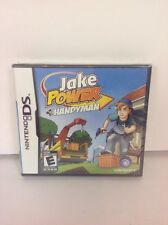 JAKE POWER HANDYMAN COMPLETE GAME FOR NINTENDO DS CONSOLE LITE DSi New Sealed