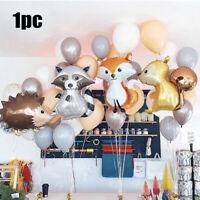 Toys   Hedgehog Cartoon Balloons Airballoons Aluminum Film Birthday Decoration