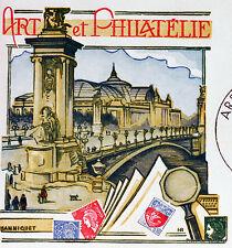 Yt 1831 A ART ET PHILATELIE PARIS   FRANCE  FDC  ENVELOPPE PREMIER JOUR